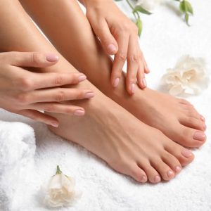 Ladies Manicure and pedicure